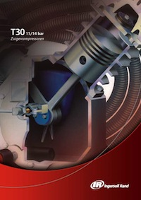 Ingersoll Rand zuigercompressor brochure T30 zuigercompressoren